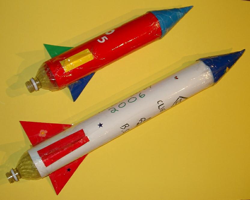 Взлетающая ракета своими руками 53