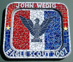 Eagle Scout Mosaic Plaque (click to enlarge)