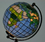 "13"" World Globe (click to enlarge)"