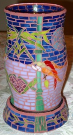 Hurricane Lovebirds Lamp (click to enlarge)